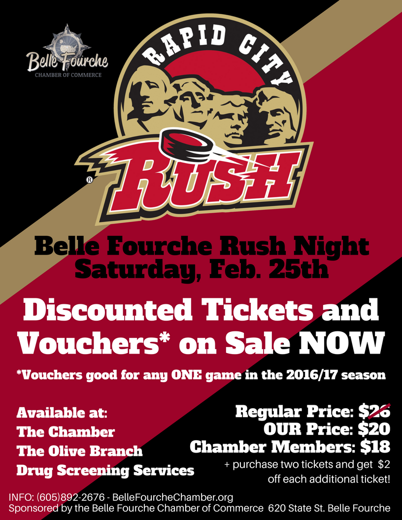 BBBelle Fourche Rush Night